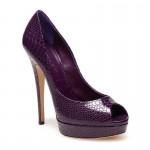 Shoe Fetish: Casadei Peep-Toe Platform Pumps…