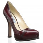 Shoe Fetish: Prada Stitched Pump…