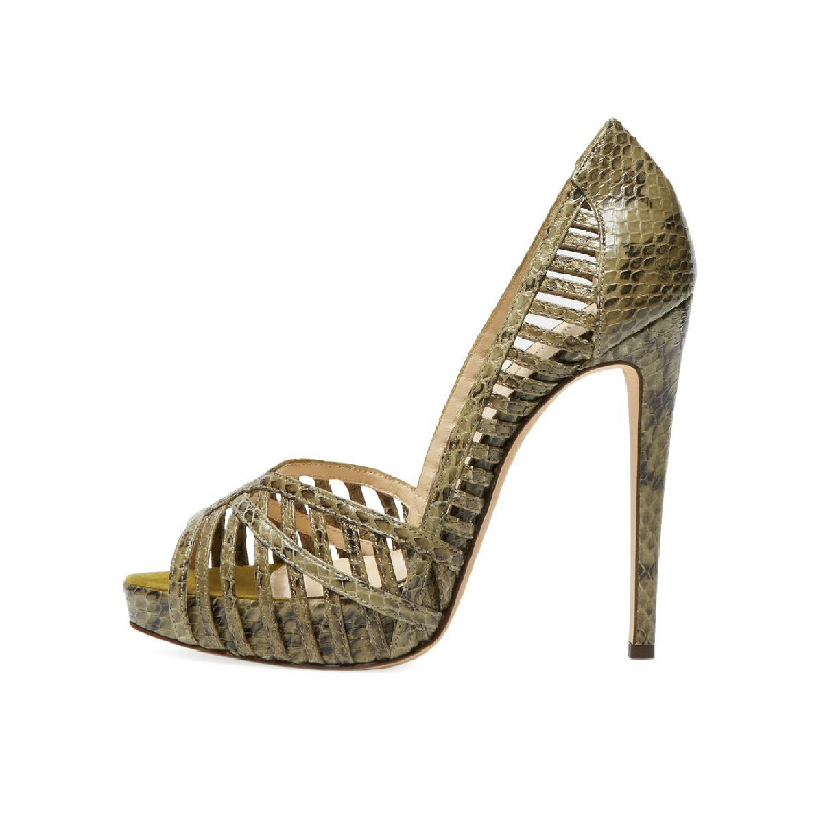 Birman Snakeskin Sandals-01