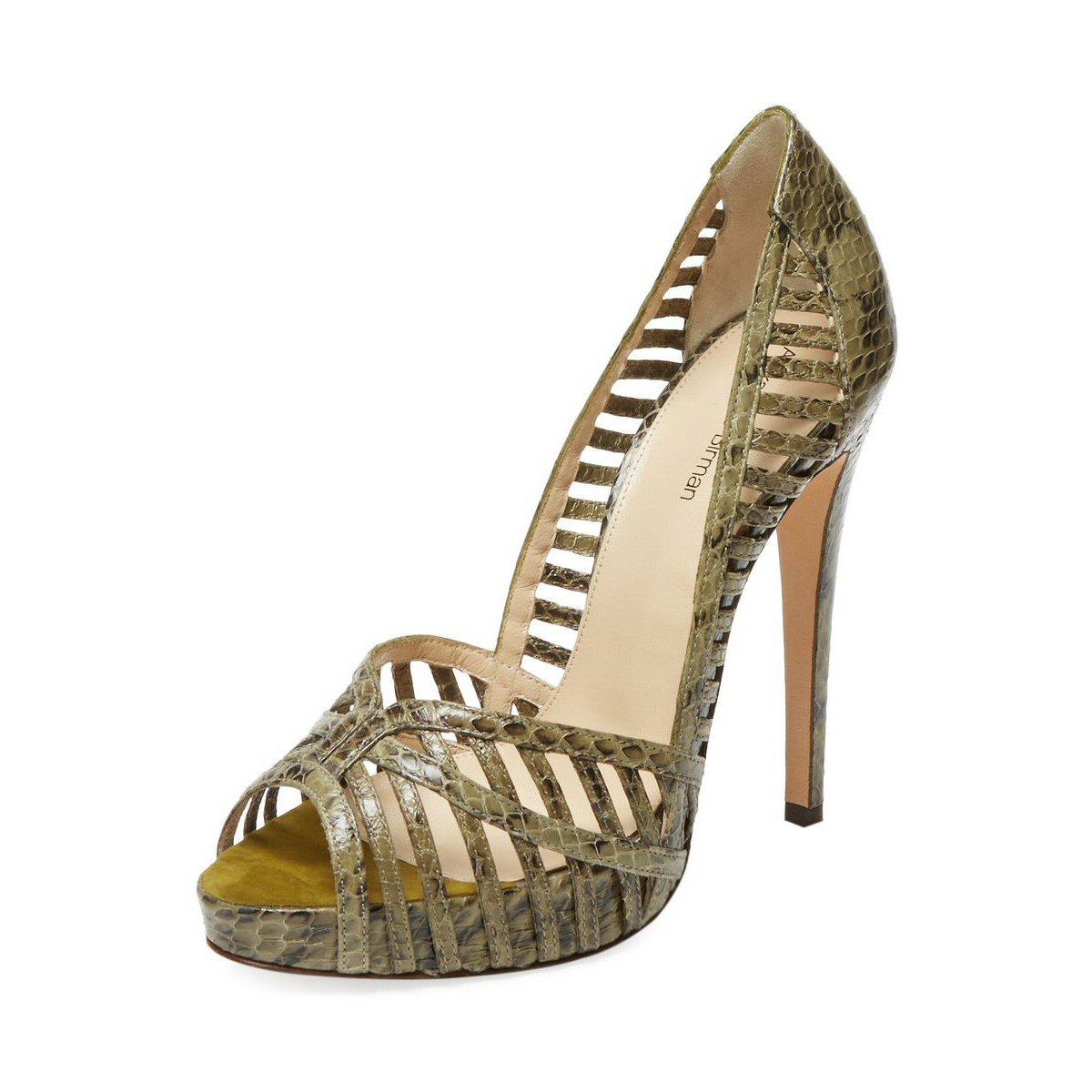 Birman Snakeskin Sandals-06
