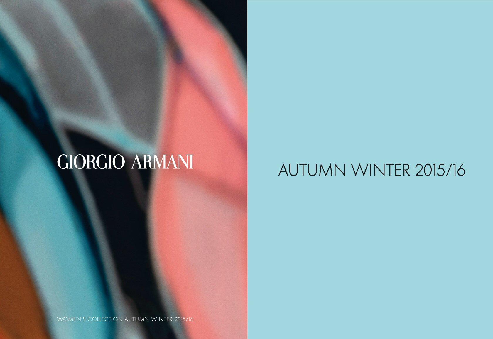 Armani AW 1516-01